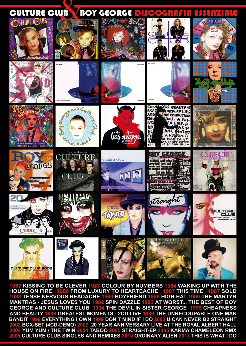 BOY GEORGE VOCE REGINA:  This is what I do | Il nuovo album solista di Boy George