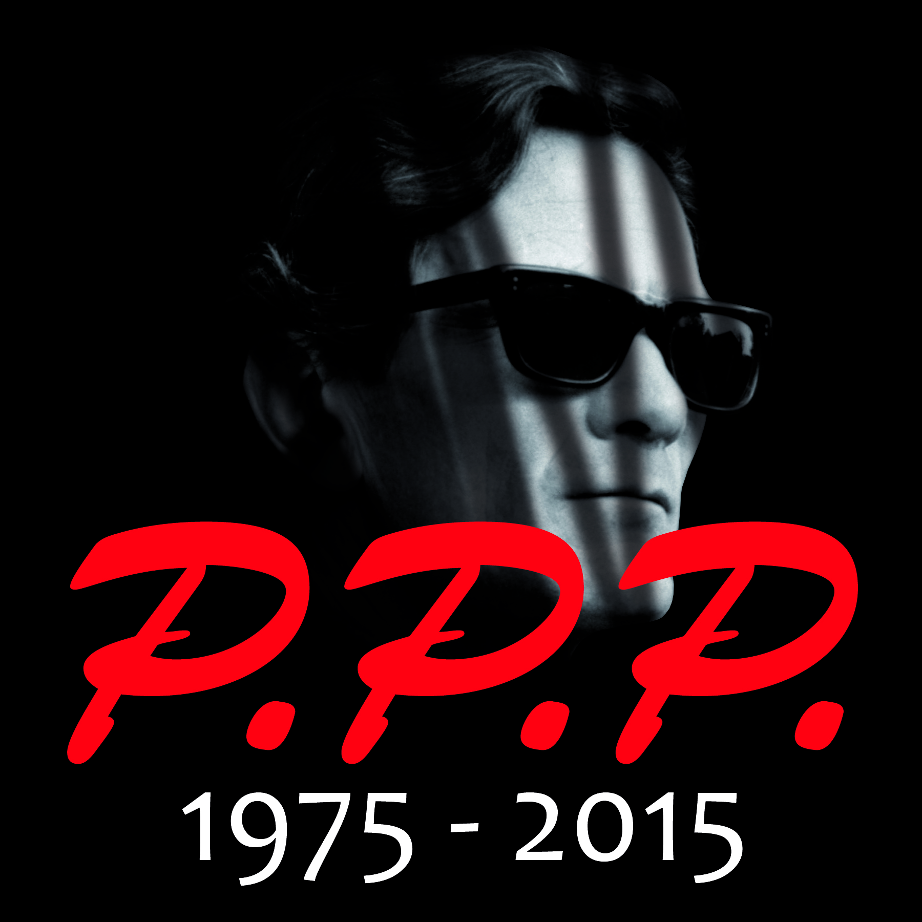 PASOLINI 1975 – 2015 | IL LOGO CELEBRATIVO DI AMEDIT