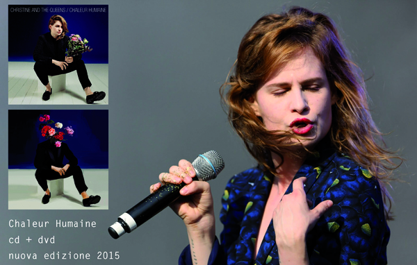 CHRISTINE | Chaleur humaine | Christine and the Queens (Special edition cd+dvd 2015)