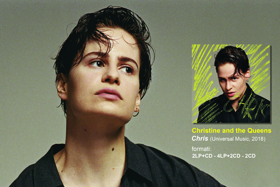 ANDROGINA CHRIS | Chris | Il secondo album in studio di Christine and the Queens